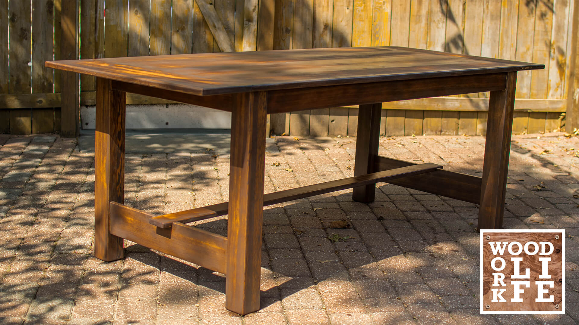 How To Turn Old Bleachers Into A Dining Room Table